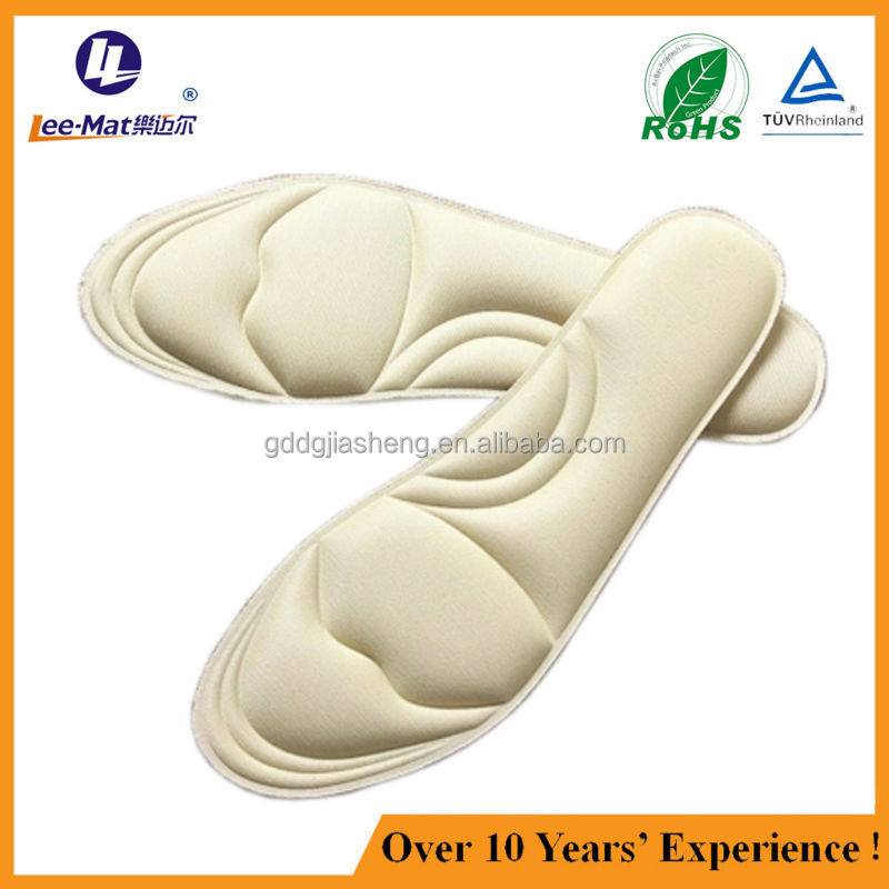 Massage air cushion space memory foam insoles for sport shoes