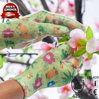 High Quality Kids Rubber Gardening Protective Gloves