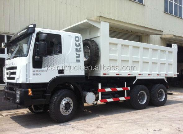 IVECO Hongyan Genlyon Dump Truck, CQ3254HTG384, Saic Iveco Technology tipper truck for sale