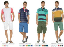 mens multicolor leisure popular design baggy bermuda