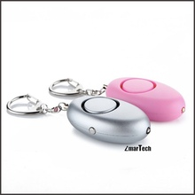 With torch 120dB alarm siren pepper spray self defense equipment