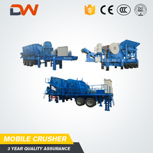 Brazil Sabah Good Semi Rubber-Tyred Refurbished Big Cost Mobile Stone Run Crusher Crushed Machine Price For Sale In Gauteng