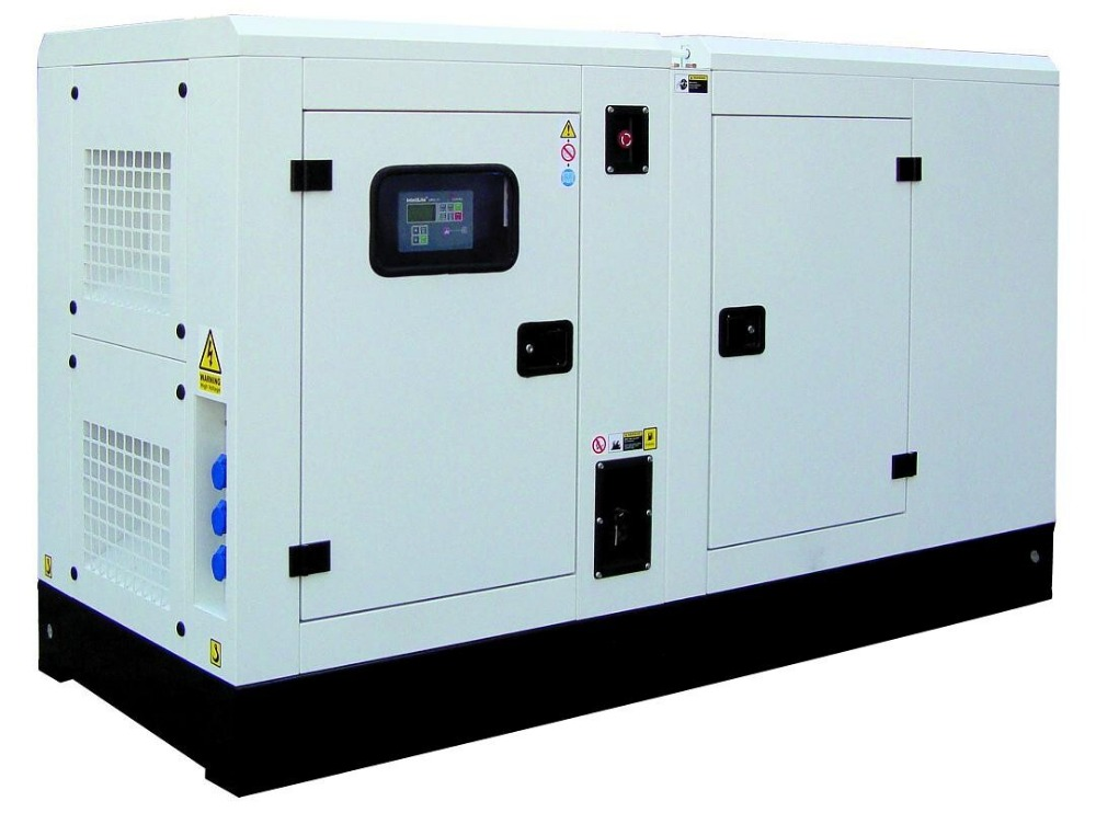 250kw SDEC diesel generator set with super silent canopy