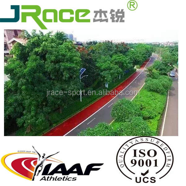 Stadium Surface Iaaf Approved Athletic Rubber Running Track