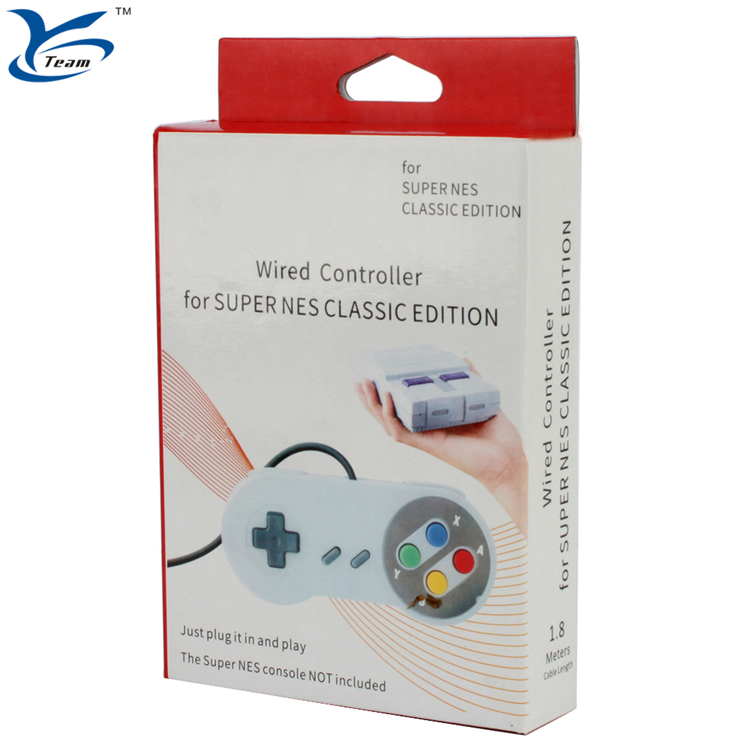 YCCTEAM Snes Mini with 1.8M Long wired Controller For Super Nintendo Entertainment System Mini Classic Edition