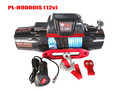 9000lb electric winch suv car jeep recovery winch with synthetic rope