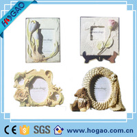 Cheap resin flower picture frame vintage photo frame for sale
