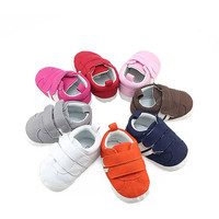 Hot Sale 0-1 Years Old Casual Sneakers Soft Bottom Toddler Comfortable Non-slip Baby Shoes