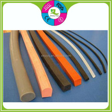 Custom foam sponge silicone rubber floor edge protection sealing strip