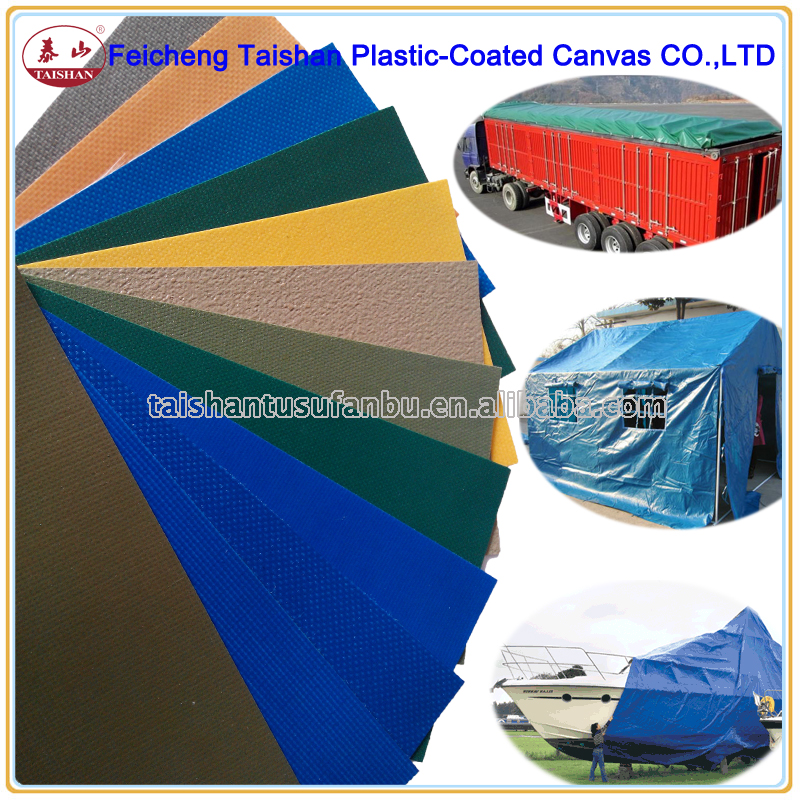 wholesale heavy duty PVC tarpaulin PVC coated fabric
