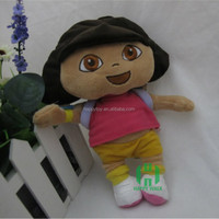 HI CE Cute Dora Soft Plush Toy for girls