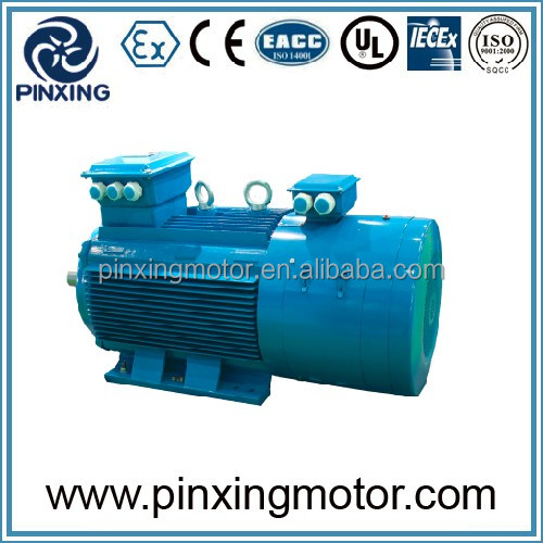 YR3 low voltage slip ring motor