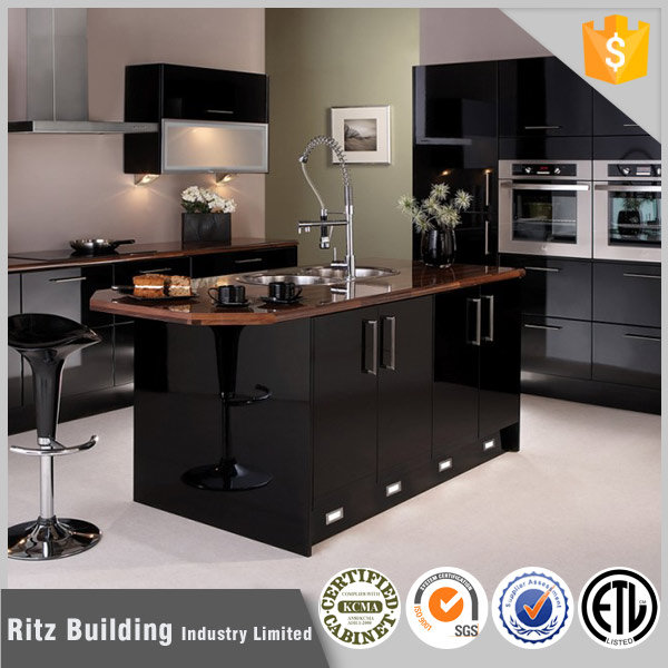 Prefabricated kitchen furniture, kitchen cabinets with island