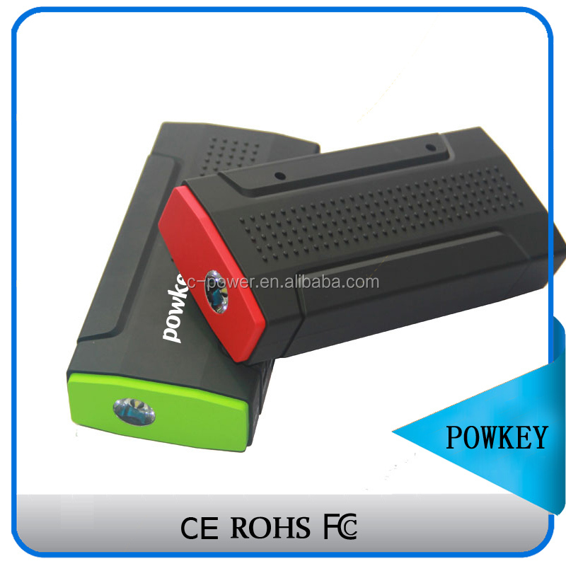 12V Phones and laptop use Multi-color easy to carry pocket portable car jump starter power bank