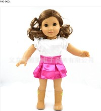 clothing outfits dress for 18 inch vinyl doll american girl doll accessory short skirt