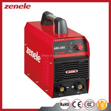 Factory directly sale single phase small portable inverter ARC welding machine from ZENELE
