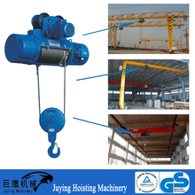 AC 380v 3 phase CD1 type electric lifting monorail hoist