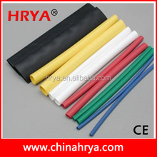 Cable Insulation Black Dual Wall Adhesive Heat Shrink Sleeve