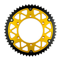 52T Rear Motorcycle Chain Sprocket for KAWASAKI KLX400 KLX 400