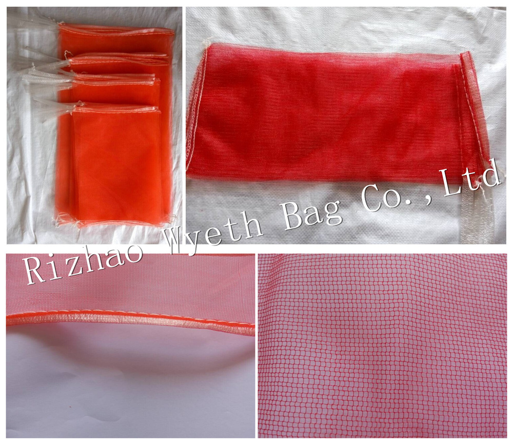 hdpe mesh net bags for onion packaging