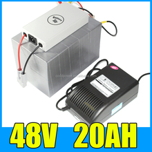 48V 20AH LiFePO4 Battery Pack With 1000W BMS Long life lifepo4 48v