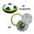 Indoor Toys 21cm Electric Plastic Light Up Soccer Ball