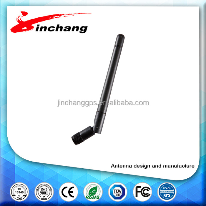 Free sample custom connector outdoor 2.4g wifi 2dbi wireless antenna