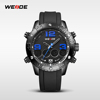 2016 Pu Strap Waterproof Guangzhou Weide Watches For Men WH3405