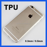 0.3mm Ultra Thin TPU Cell Phone Case for iPhone 5 Case