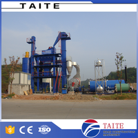 China supplier hot bitumen asphalt batching mixing plant