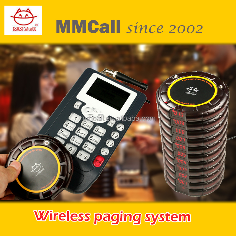 MMcall best price Wireless paging system queuing pager wireless call system