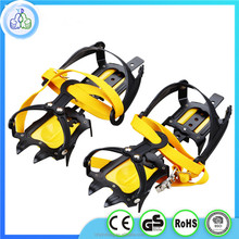 Hot style top selling new ten tooth crampons outdoor rock climbing ice snow antiskid shoe covers climbing supplies