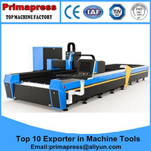 Cnc Fiber Laser Metal Pipe / Tube Cutting Machine For Fire Control Industry