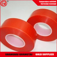 Cutomized high gloss red plastic pet release film roll