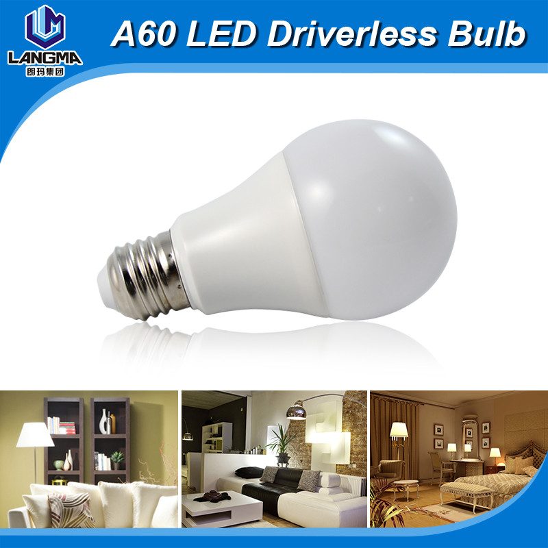 AC220-240V dimmable 5W 7W 8W E27 lights and lightings lamp