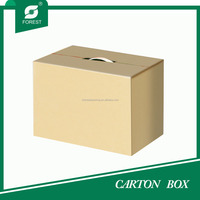 CORRUGATED PLASTIC HANDLE PACKAGING BOX
