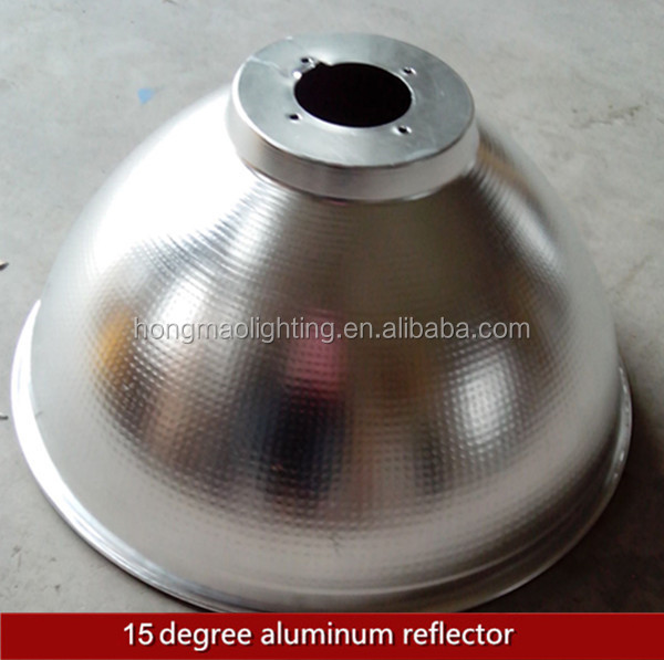 customized aluminum 15degree led high bay reflector