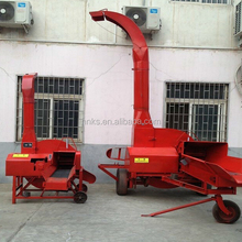 Motor diesel driven grass chopper machine for animals feed