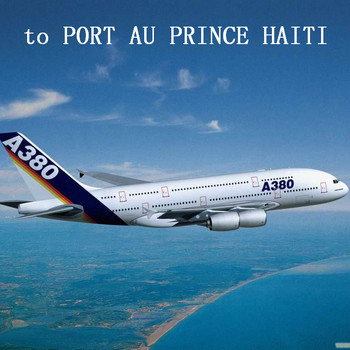Air Freight to PORT AU PRINCE HAITI from China Shanghai Beijing Shenzhen Guangzhou Chongqing Chengdu Xi'an