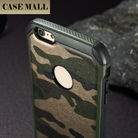 2015 Camouflage Pattern New Arrival For iPhone 5 6 6Plus Silicone +PU 2 in 1 Phone Back Case Cover Hot Design