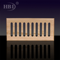 1WSB Solid Block Wooden Grille Wooden return Air Vent Grille