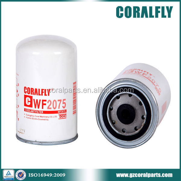 Supply competive price coolant filter WF2075