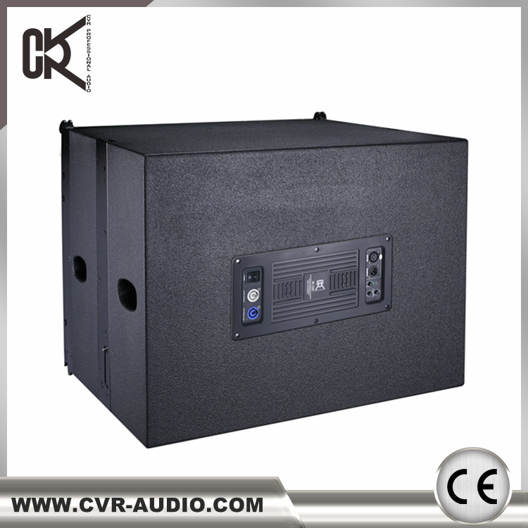 1000 watt RMS 18 inch line array subwoofer