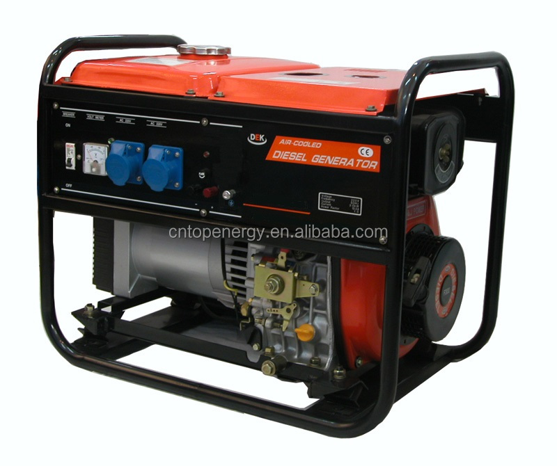 High quality gasoline generator 5kva small power home generator small size easy take motor generator 220V