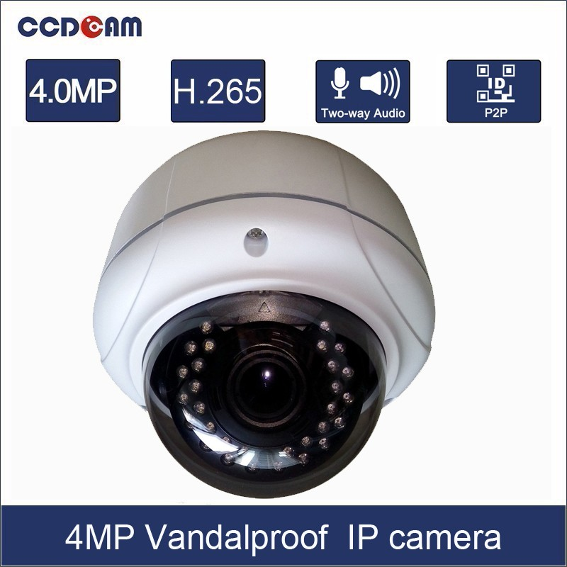 Full HD Network POEVandalproof p2p network 4MP IP Camera