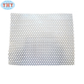 Powder Coated aluminium perforated metal sheet/round hole perforated metal