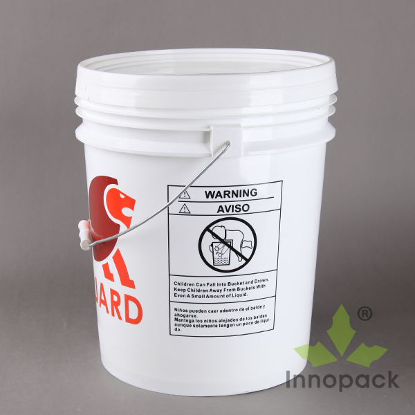 food grade round 5 gallon paint bucket spout for plastic pail for sale