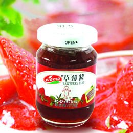 good quality sweet strawberry jam