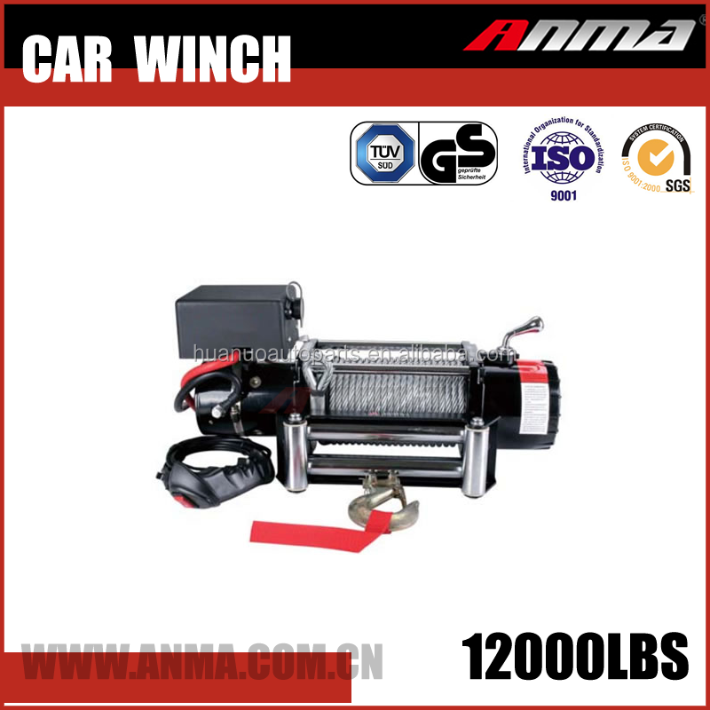 customized model 12000lb CE approved Car Electric Winch with CE certificate