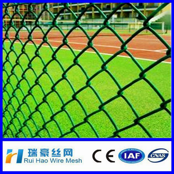 high quality 6foot used vinyl coated chain link fence